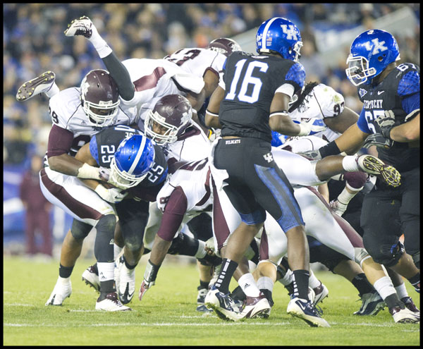 More Talent Means More 3 Guard Lineups For Uk: Kentucky Wildcat Football 2012 Season Predictions