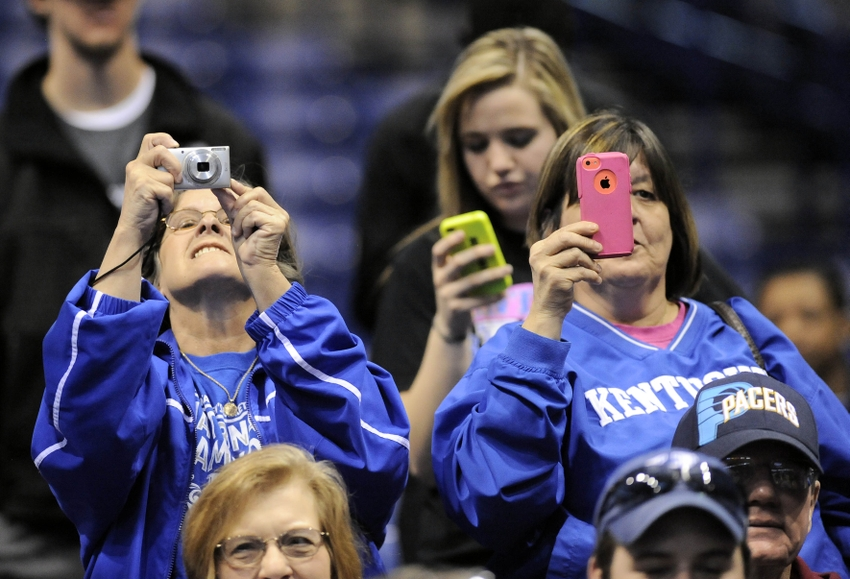 What S So Special About Kentucky Basketball: Big Blue Madness: Happy Campers