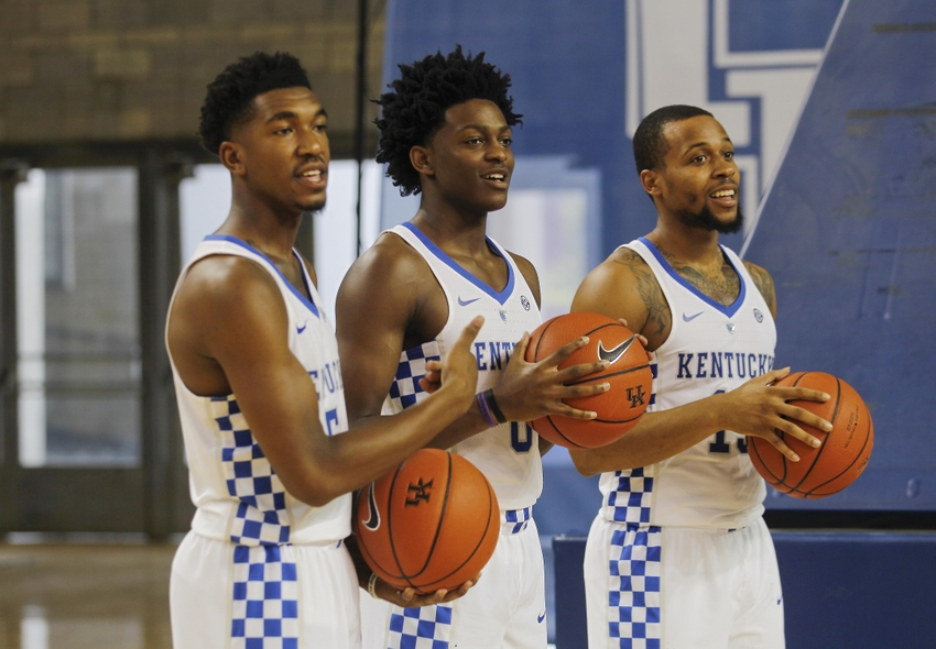 Malik Monk And De Aaron Fox Usa Today All Americans: Kentucky Dominates In Exhibition Win Over Clarion