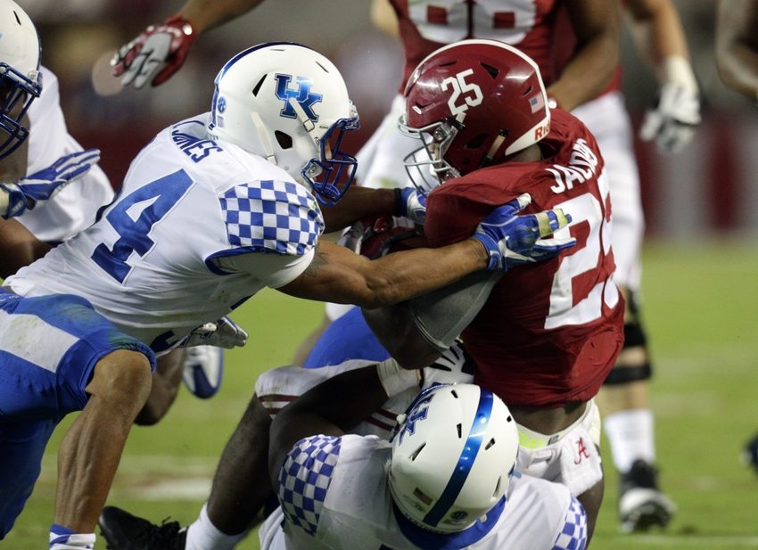 save off 6eac1 42d83 Three Kentucky Football Players Win All-SEC Honors