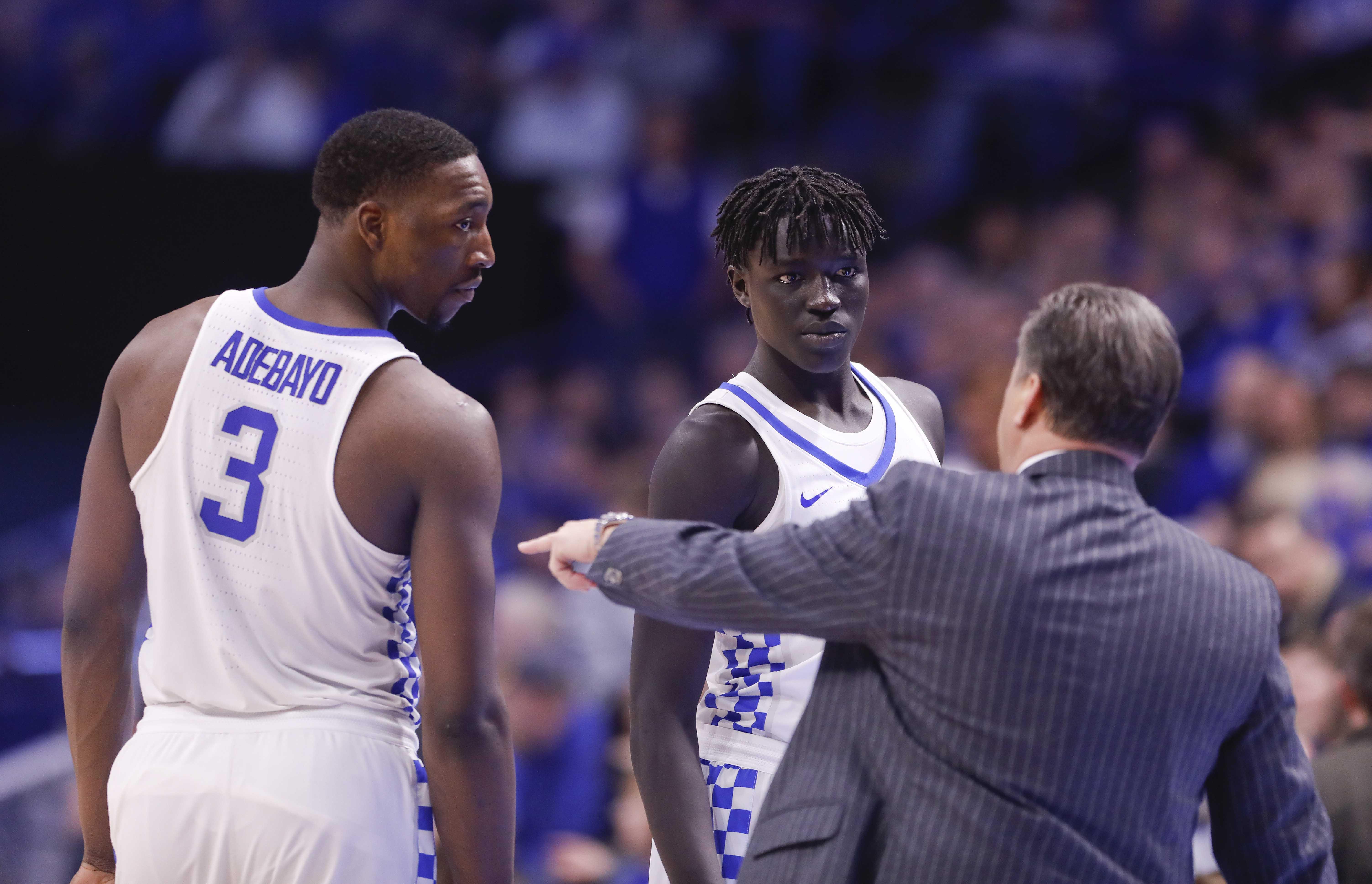 Kentucky Basketball First Half Notes Versus South Carolina
