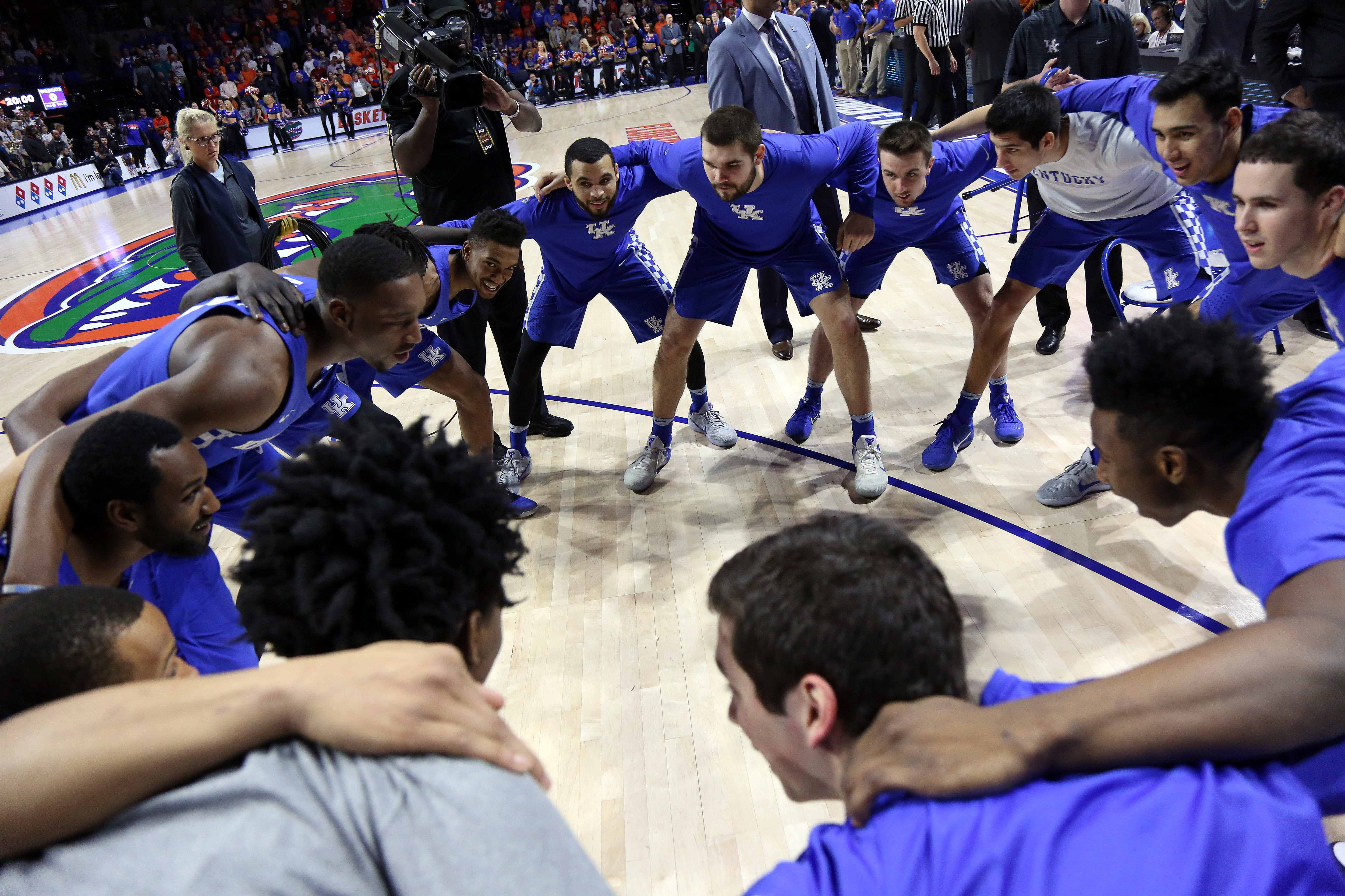 Kentucky Basketball What The Florida Win Means To The: Kentucky Basketball: How Big Blue Fans Watch Games
